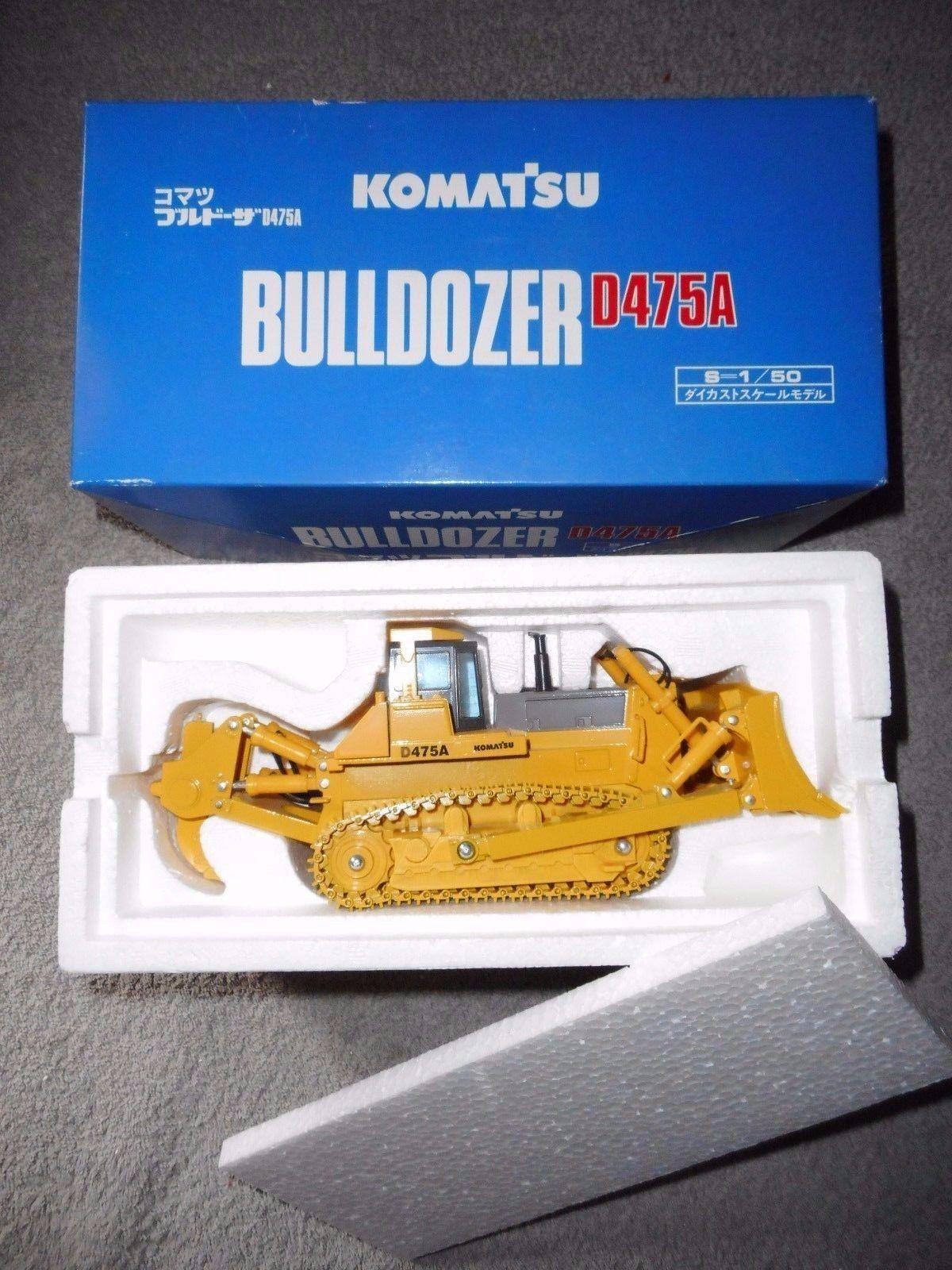 KOMATSU BULLDOZER D475A 1 50 métal  JAPON  conrad nzg