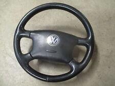 4-Speichen Lederlenkrad VW Sharan ab Bj.2000 Lenkrad LEDER 7M3419091AQ schwarz