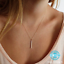 Simple-Minimalist-Dainty-Silver-or-Gold-18-034-Vertical-Bar-Pendant-Necklace-USA