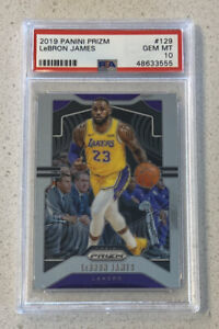 Lebron-James-2019-Panini-Prizm-129-PSA-10-GEM-MINT-Lakers
