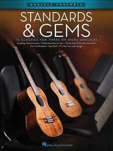 Standards /& Gems Sheet Music Ukulele Ensembles Early Intermediate Ukul 000103898