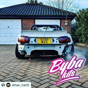 Byba Kits Style Mazda Mx5 Mk1 Na Rear Spoiler Ducktail Trunk Boot