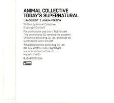 (DP707) Animal Collective, Today's Supernatural - 2012 DJ CD
