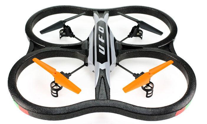Amewi  RC Quadrocopter Quadcopter UFO Intruder 2,4 GHz mit Kamera