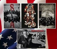 Sons Of Anarchy Poster Four Individual Brand Posters Official License