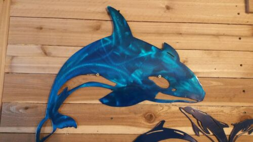 """20/""""  DOLPHIN JUMPING SIGN  Hand Made in Waco Texas"""