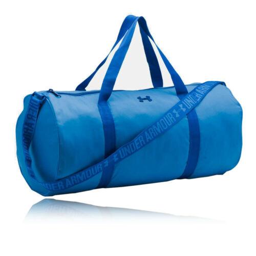 Under Armour Femme Favorite baril Sac Polochon Bleu Sports Gym Full Zip poches