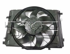 TYC 623280 Dual Rad/& Cond Fan Assy for Mercedes C Class  2001-2007 Models