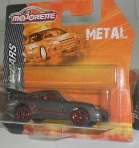 MAJORETTE-RACING-CARS-MINIATURES-PORSCHE-911-GT3-RS-DIECAST-METAL-SCALE-1-64-OVP