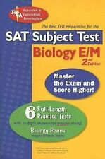 SAT Subject Test™: Biology E/M w/CD (SAT PSAT ACT (College Admission) Prep)