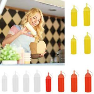 2 bottles 300ml Dispenser Dispenser sauces Oil Ketchup Mustard Mayonnaise for pub