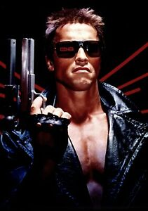 TERMINATOR-Movie-PHOTO-Print-POSTER-Textless-Film-Art-Arnold-Schwarzenegger-03