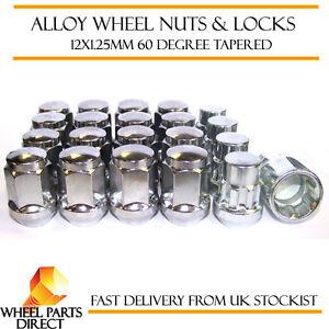 Wheel Nuts & Locks (16+4) 12x1.25 Bolts for Nissan Note [Mk2] 13-16