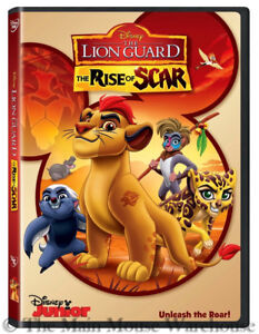Details About Disney Junior Lion King Kids Tv Show Spinoff The Lion Guard The Rise Of Scar Dvd
