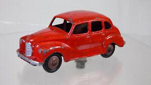 VINTAGE Dinky Toys No152 RARA anni 1950 Rosso AUSTIN DEVON un 40 Diecast Modello Auto Giocattolo