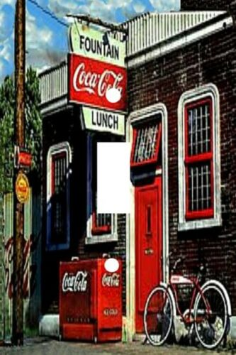 Decorative Decoupage Light Switch Covers Old Time Soda Shop