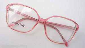 18 Exzellente QualitäT M 54 Zielsetzung Brille Brillenfassung 70er Vintagebrille Xl Oversized Rosa Rosé Gr