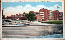 1920 Postcard: Remington Arms/Amunition Co - Bridgeport, Connecticut CT