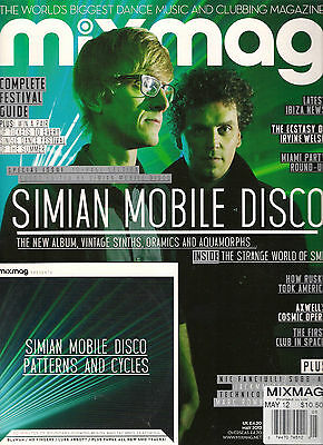 NEW! MIXMAG UK 252 May 2012 SIMIAN MOBILE DISCO CD Complete Festival Guide RUSKA