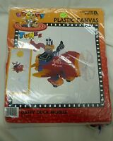 Vtg 1997 Warner Bros Looney Tunes Plastic Canvas Kit Daffy Duck Mobile Airplane