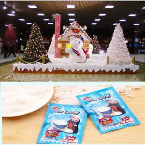 10X-Fake-Magic-Instant-Snow-Fluffy-Super-Absorption-Festive-Decoration-WR