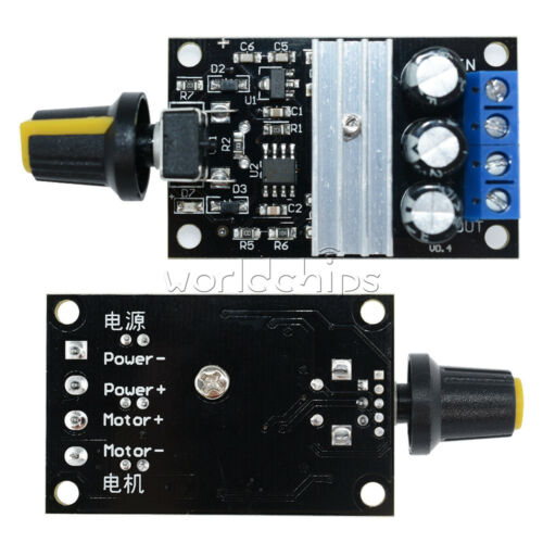 5PCS PWM DC 6V 12V 24V 28V 3A Motor Speed Control Switch Controller