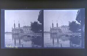 Enghien-Val-D-039-Oise-Francia-Foto-Stereo-Negativo-Su-Film-Morbido-1911