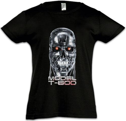 SKULLHEAD MODEL T-800 Kids Girls T-Shirt Cyberdine Skynet Cyborg Terminator