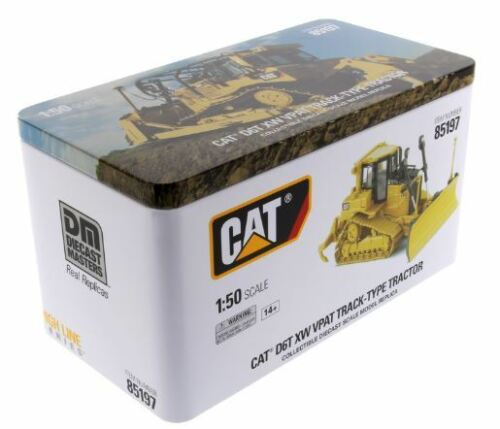 1//50 DM Caterpillar Cat D6T XW VPAT Track-Type Tractor Diecast Model #85197