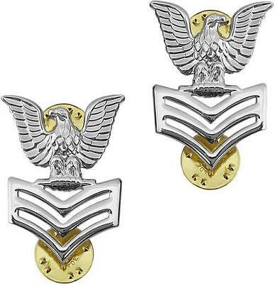 1ST CLASS PETTY OFFICER GOOD CONDUCT COAT EPAULET HAT PIN UP US NAVY VET E5 USS