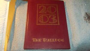 2003-WALLER-HIGH-SCHOOL-YEARBOOK-WALLER-TX-THE-BULLDOG