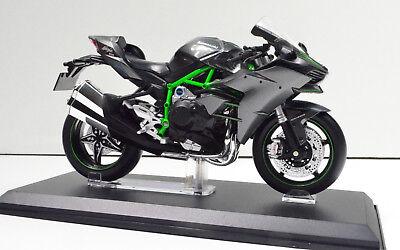 Kawasaki Ninja H2 R schwarz Maßstab 1:18 Motorrad Modell von maisto