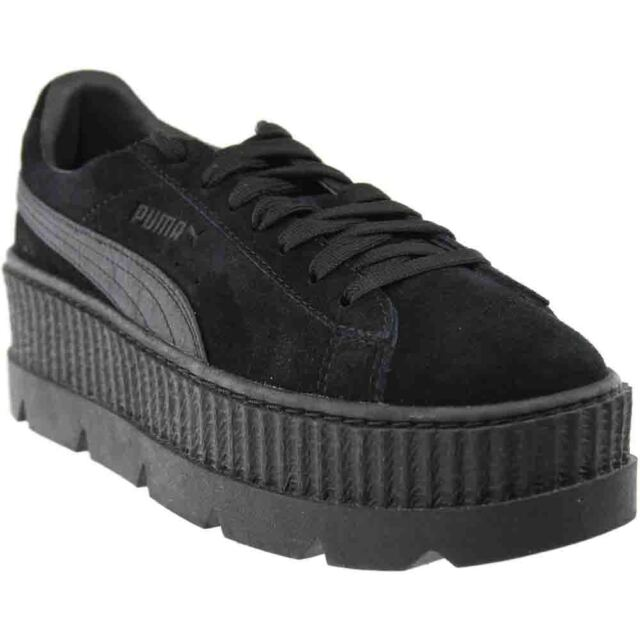 PUMA Womens Fenty by Rihanna Black Cleated Creeper 36626804 SNEAKERS ... 84ce4d9c4