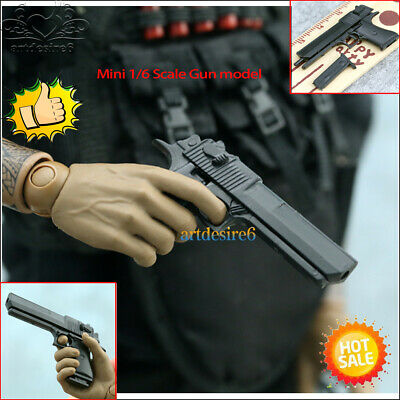 "US 1:6 Scale Gun Weapon Mode 4D Assembling Desert Eagle Pistol F 12/"" Figure Toys"