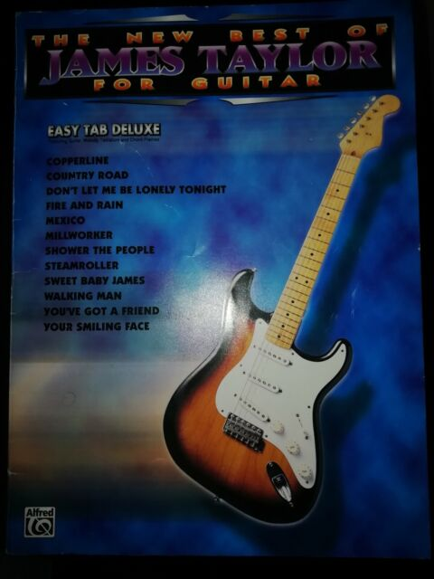 The New Best of James Taylor for Guitar Learn to Play Guitar MUSIC BOOK