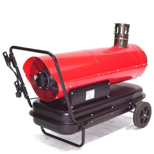 55215 Indirekt Ölheizer Heizkanone 30kW Heizgerät Bauheizer Ölheizung Heizung