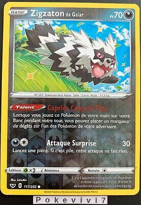 Carte Pokemon TOURNICOTON 020//202 REVERSE Epée et Bouclier 1EB01 FR NEUF