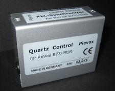 Quarzgenaue Motorregelung  QUARTZ-CONTROL   für die Revox PR99 (PR 99)