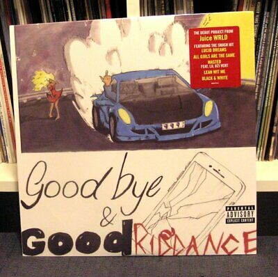 Juice Wrld Goodbye Good Riddance Lp Orig Ss Travis Scott Lil Uzi Vert Ebay