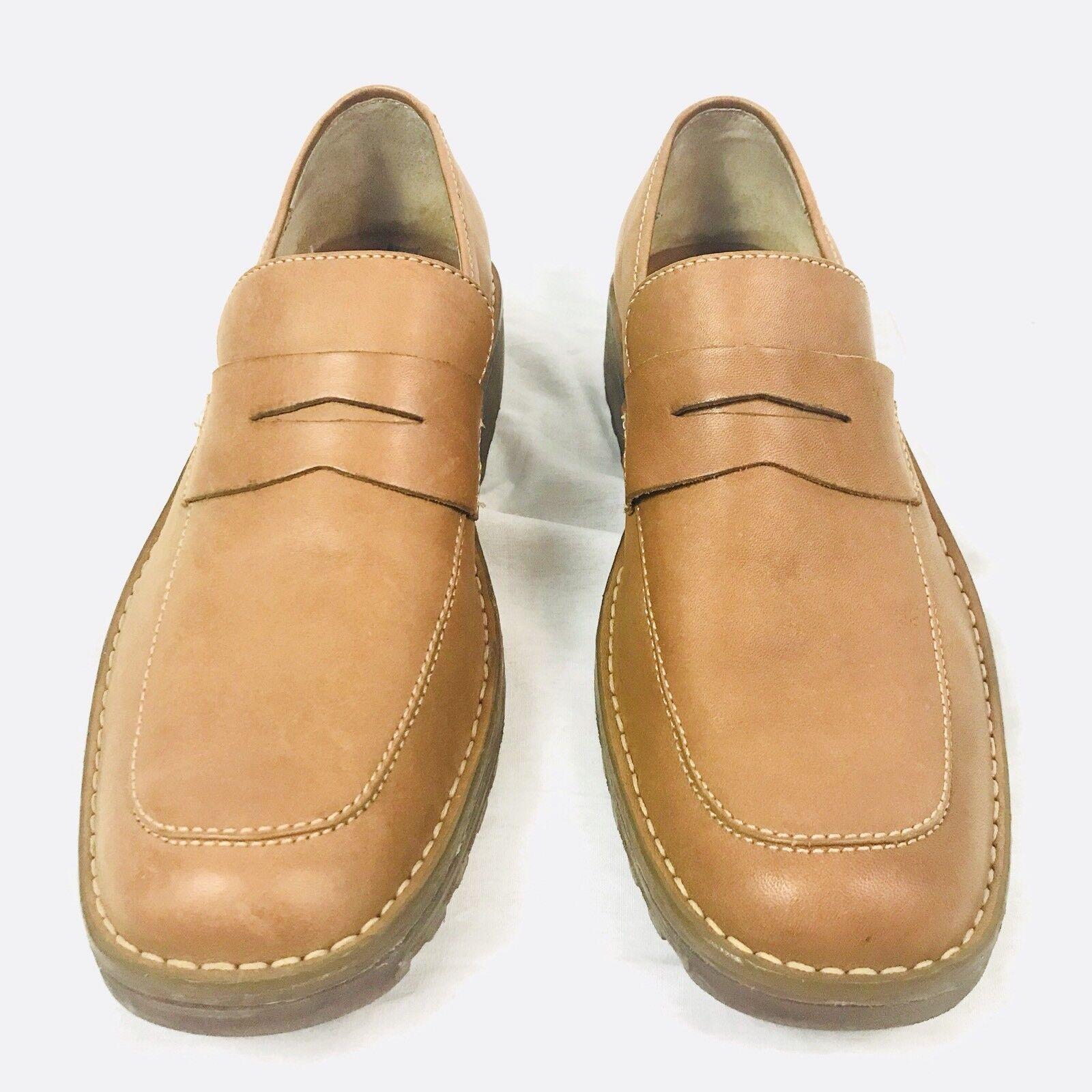 Born Pelle Loafers Slip On 10.5 5139