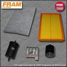 SERVICE KIT VW GOLF MK4(1J) 1.6 16V AZD BCB OIL AIR FUEL CABIN FILTER PLUG 00-05