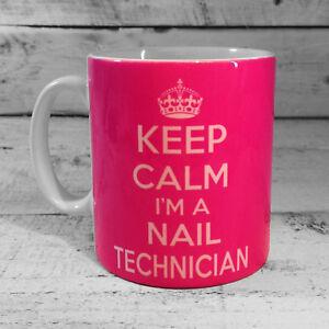 Image Is Loading Keep Calm I 039 M A Nail Technician Mug