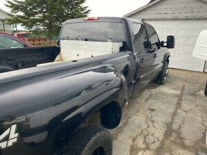 2003 Chevrolet Silverado 3500 black