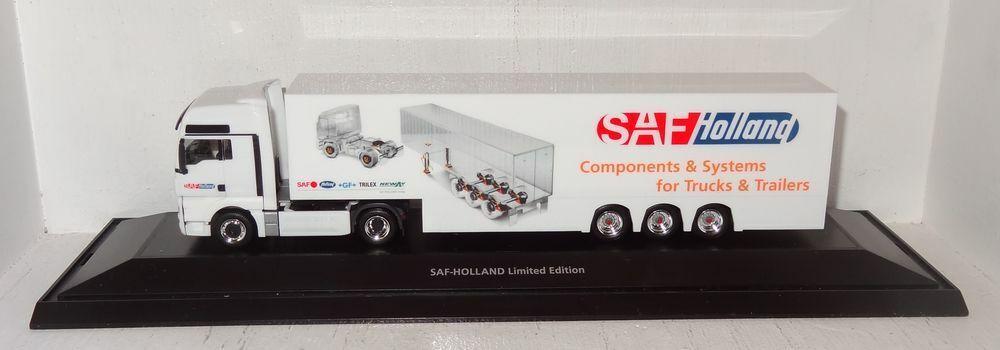 Sb48 Herpa Man remolcarse SAF Holland Limited Limited Limited Edition 1 87 en PC 602050