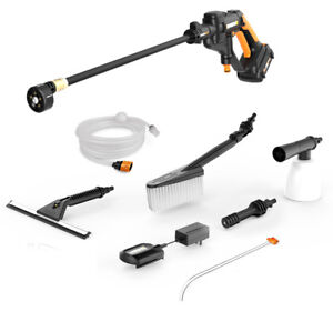 WORX WG629.1 Hydroshot 20V PowerShare 2.0 Ah Cordless Portable Power Cleaner