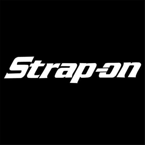 Strap On Funny Sticker Car Laptop Truck Motorcycle Bike Wall Window Vinyl Decal