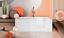 miniatura 5 - Badewanne mit Tür rechts und integrierter abnehmbarer Sitzbank für Senioren 170