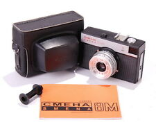 SMENA 8M LOMO Compact Camera USSR CLA ENG Manual MINT