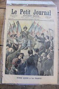 Petit-journal-illustre-N-6-1891-Bonne-annee-la-France-Perdu-en-Mer