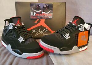 Air-Jordan-4-Bred-OG-Retro-Black-Red-308497-060-All-Sizes